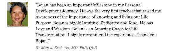 Testimonials - Dr Marcia Becherel