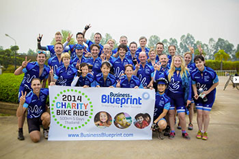 Bike Ride For Charity in Thailand – Crossing the Finish Line