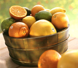Healthy eating habits :Eat some citrus fruits.