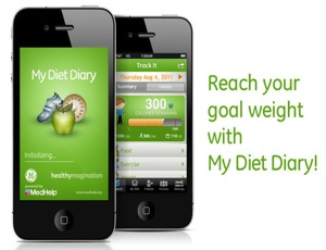 my diet diary weight loss app