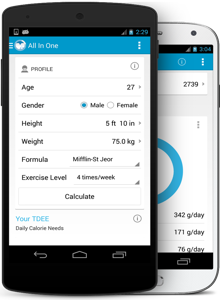 my fitness calculator weight loss apps
