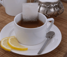 Tea with lemon and honey can alleviate flu symptoms