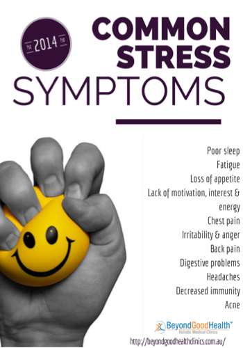 common stress symptoms