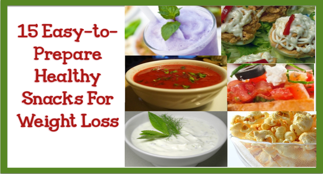 15 Easy-to-Prepare Healthy Snacks For Weight Loss - Beyond ...