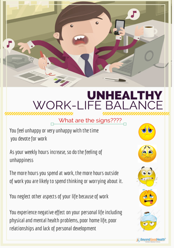 unhealthy work life balance