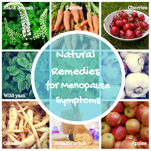 menopause symptoms natural remedies