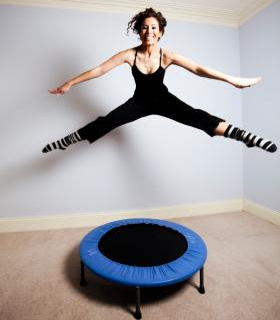 Flush Out Body Toxins Through Rebounding Exercise
