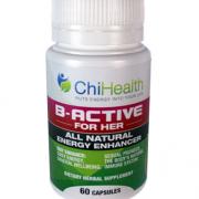 V_Active_for_Her_60_Capules energy boost alternative medicine practitioner brisbane