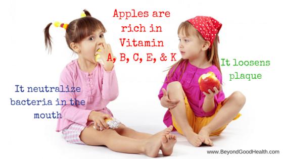 apple for healthy gums alternative medicine practitioner brisbane