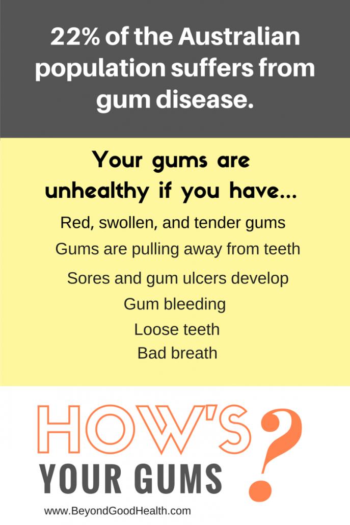 healthy gums alternative medicine practitioner brisbane