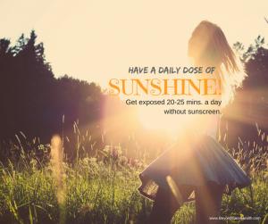 sunlight exposure for autoimmune disease