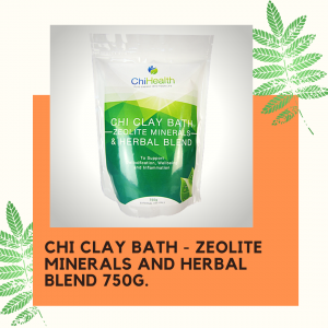 CHI Clay Bath - Zeolite Minerals and Herbal Blend